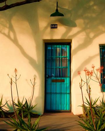 Barrio Blue Door-SM