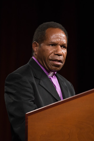 081216 - New Orleans, LA - The 2016 Churchwide Assembly Plenary Session Eight. William Horne elected new vice president. Pictured is the Rev. Dr. Jack Urame, bishop of the Evangelical Lutheran Church of Papua New Guinea.