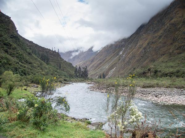Inca Trail near Machu Picchu