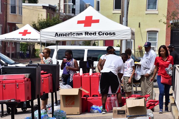 2017 American Red Cross House BBQ Event