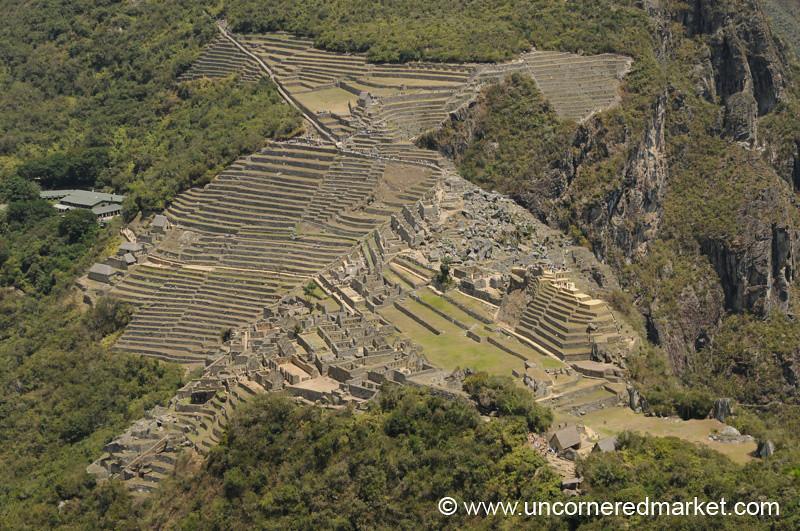 Machu Picchu from Above - Peru