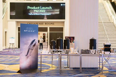 SpaceX Coffee Bar and Station