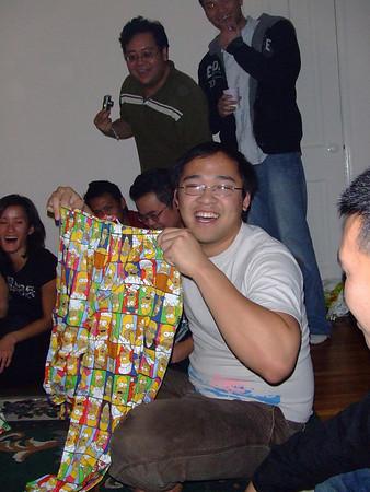 X-mas Gift Exchange at Tri's '07
