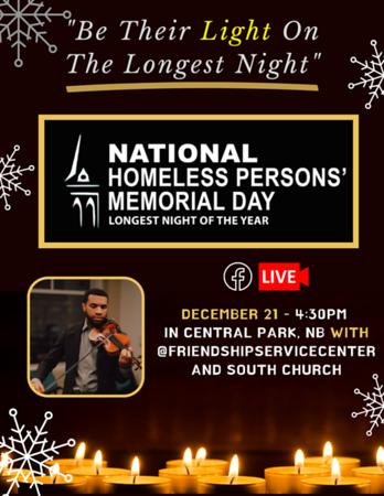Dec 21st The Longest Night Vigil Post 12.7.2020