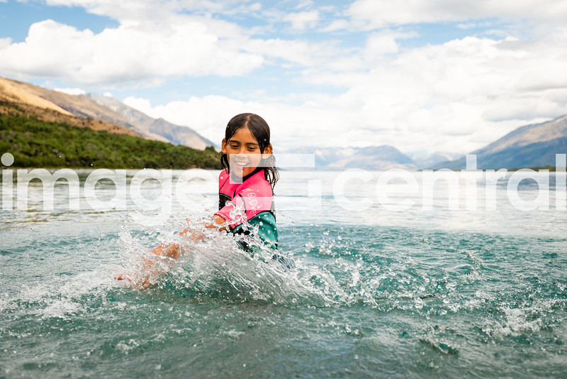 Avie Morgan Lake Wakatipu. © Copyright image by Clare Toia-Bailey / www.photosport.nz