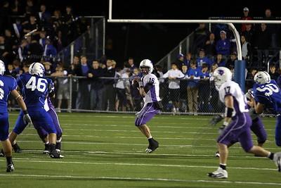 2009 Varsity Football vs. St. Xavier (10/02/2009)