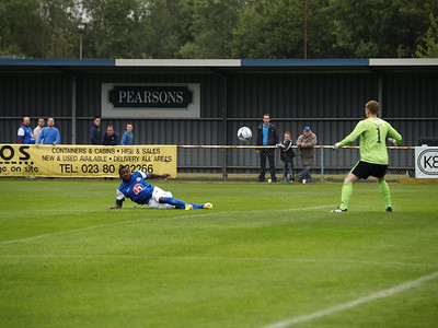 Eastleigh (1) v Sutton United (0) 17.8.2013