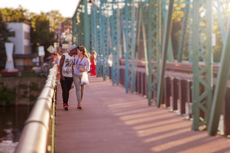 Kiss on a Bridge-.jpg