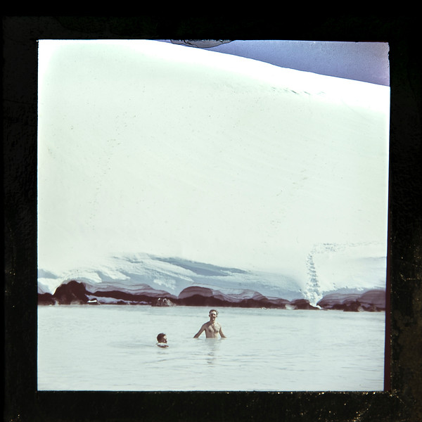 1956 swimming in the Ruapehu crater lake.jpg