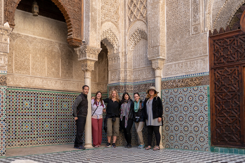 Intrepid Travel group in Fes