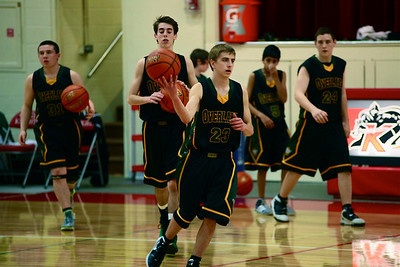 Overlake Basketball vs Kings 2012