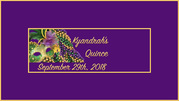 Kyandrah's Quince