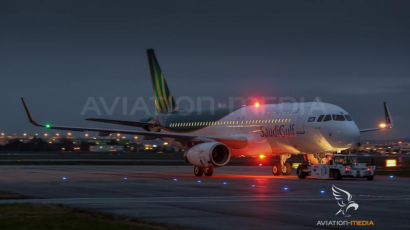 SaudiGulf / Airbus A320-232SL / F-WWBC (to be VP-CGX)