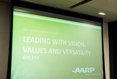 AARP's Women's Leadership Forum 2017