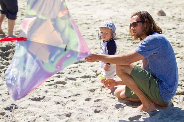 Kite Flying in Oceanside 2016