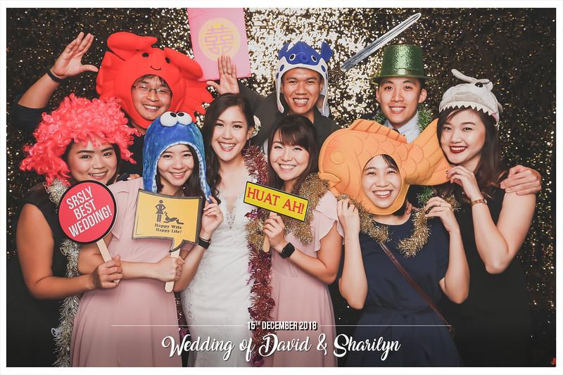 Wedding of David & Sharilyn   © www.SRSLYPhotobooth.sg