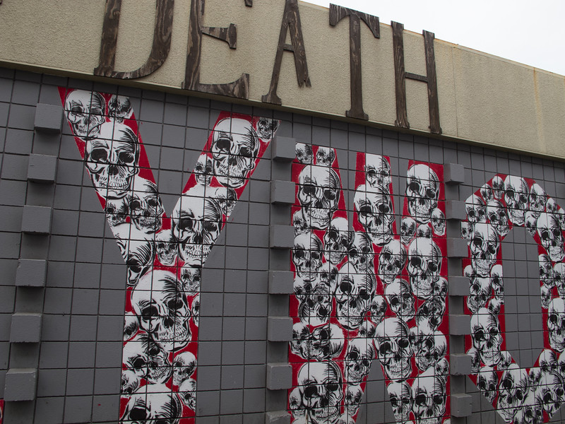We visited the Museum of Death - no photos inside though.