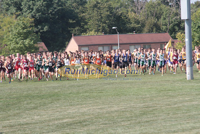 Boys Varsity Start - 2012 Golden Grizzly High School Invite