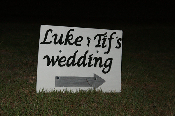 Luke and Tiffany's Wedding