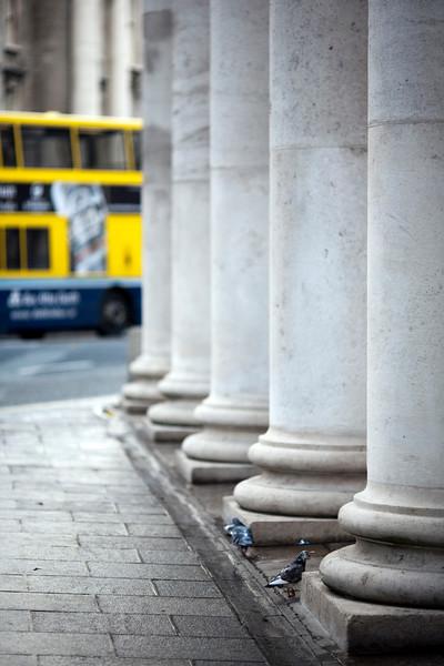 Columns of the Bank of Ireland, Dublin, Ireland