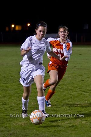 Boone @ Winter Park Girls JV Soccer - 2011