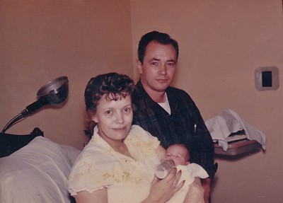 1960 Annette With Mom & Dad