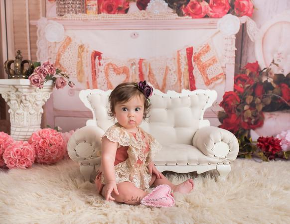 Makenzie / 7 Months Valentine