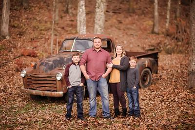 Sarah Hutcherson Family 2018