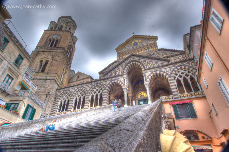 The village of Amalfi, Italy is a very nice visit! - cathedral
