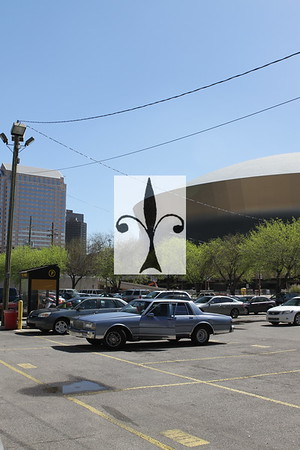 SUPERDOME PARKING LOT