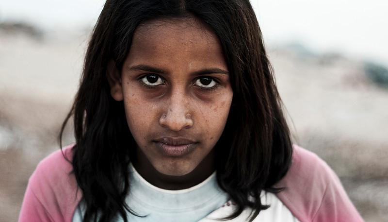 Local girl.  Dahab, Egypt, 2010.
