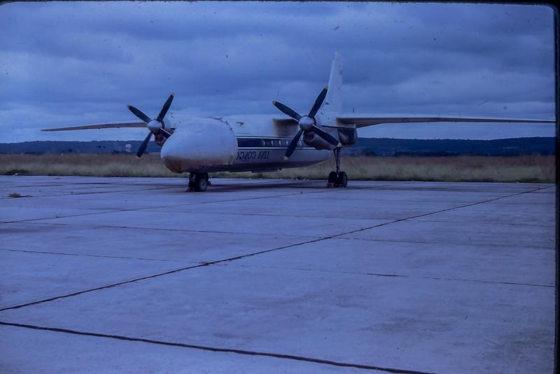 Antonov An-24 photo de Robert House en mission au Congo