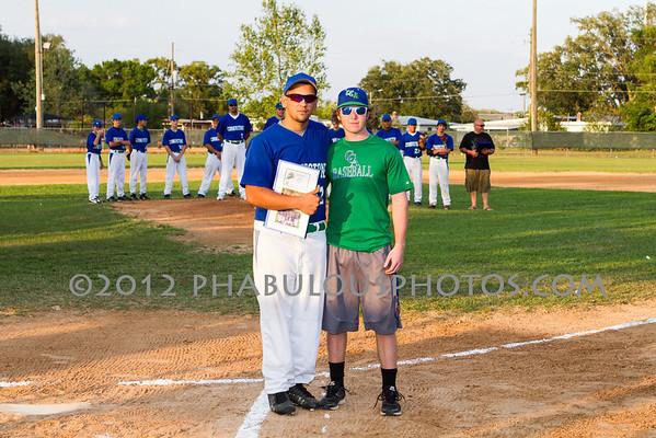Lake Mary Prep @ Cornerstone Charter Boys Varsity Baseball - 2012