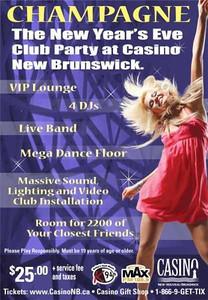 New Years Eve 2010 - Casino NB
