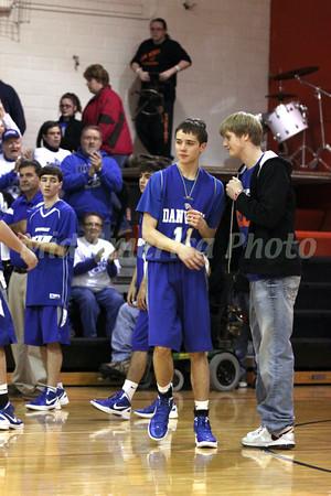 Boys Basketball, Danville vs Van Buren 1/13/2012