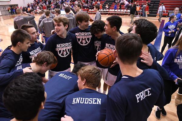 Varsity Boys Basketball vs Bennington