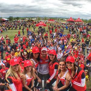 Ducati Island COTA MotoGP Weekend -  2016