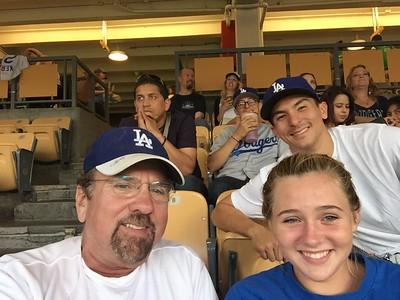 Kat & Me Dodgers vs Padres