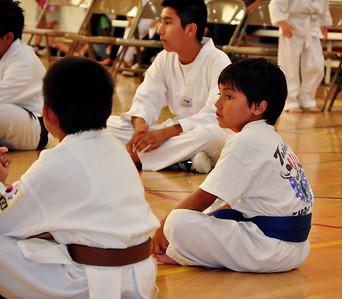 Brandon Tae Kwon Do Belt Test