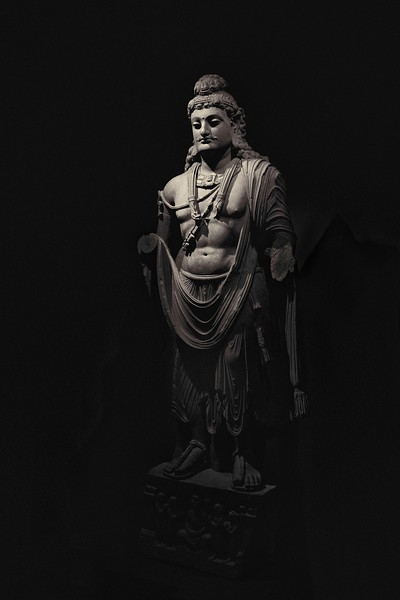 Gandhara Buddha at the Norton Simon Museum.