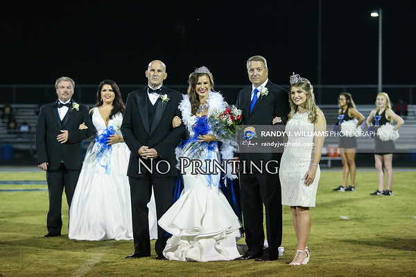 Holly Springs High vs. Tishomingo County High (Homecoming)