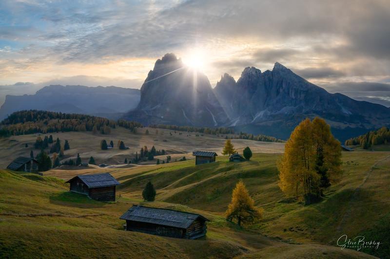 First Light at Alpe de Siusi V