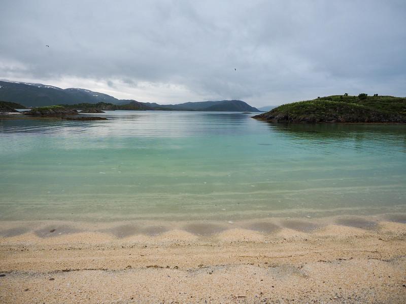 Ocean in Sommarøy, Norway