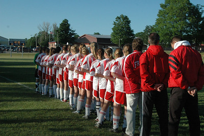 Girls Varsity Soccer - 2006-2007 - 6/5/2007 Regionals Shelby JG