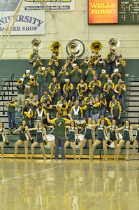Mustang B Band | Basketball Vs Bakersfield