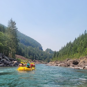 Whitewater Rafting at Glacier