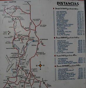 Argentina's Northwest Andeas Valles Calchaquies