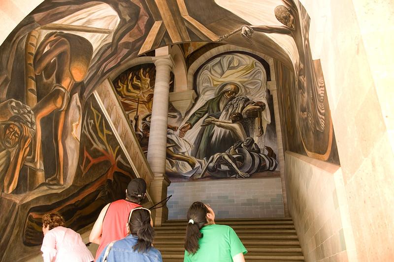 Mural Gazing, Guanajuato