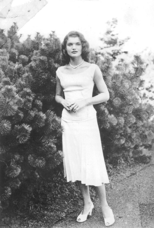 . Jacqueline Bouvier Kennedy as a young debutante in the late 1940s.