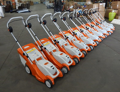 Stihl electric lawnmowers